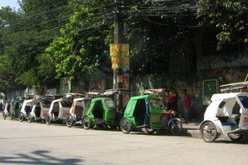 tricycle manila, filipina, pangkalan