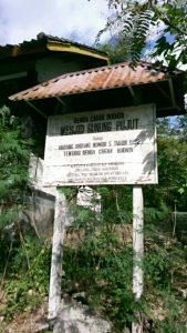 Plang masjid gunung Pujut