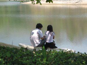 Pacaran mahasiswa Chiang May