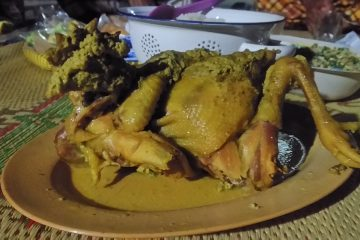 Iwak ingkung kuliner tradisi Jawa
